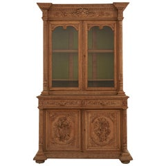 Mid-19th Century French Hunt Cabinet