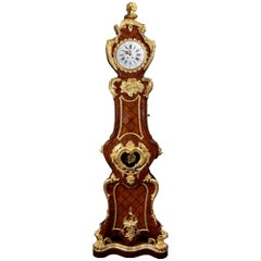 Mid-19th Century French Louis XV Style Grandfather Clock