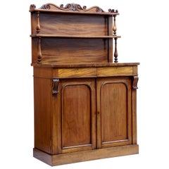 Mid-19th Century French Mahogany Chiffonier Sideboard
