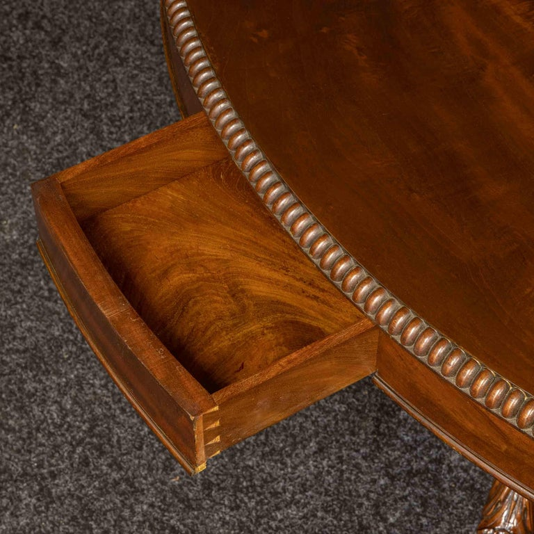 Mid-19th Century French Mahogany Table For Sale 3