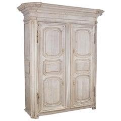 Mid-19th Century French Oak Wardrobe