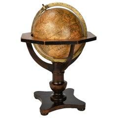 Mid-19th Century German Globe by C. Abel-Klinger, Nuremberg, circa 1860