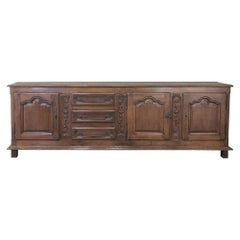 Mid-19th Century Grand Rustic Buffet