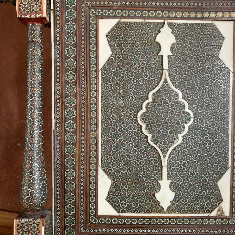 Mid-19th Century Indian Table Mirror For Sale 1