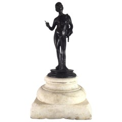 """Mitte des 19. Jahrhundert Italienischen Bronze-Skulptur """"Dionisio"""""""