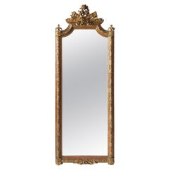 Mid-19th Century Italian Carved Giltwood Mirror