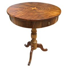 Mid-19th Century Italian Circular Gueridon Louis Philippe Centre Table