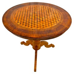 Mid-19th Century Italian Sorrento Center Table