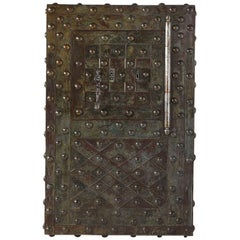 Mid-19th Century Large French Wrought Iron Safe by Magaud De Charf