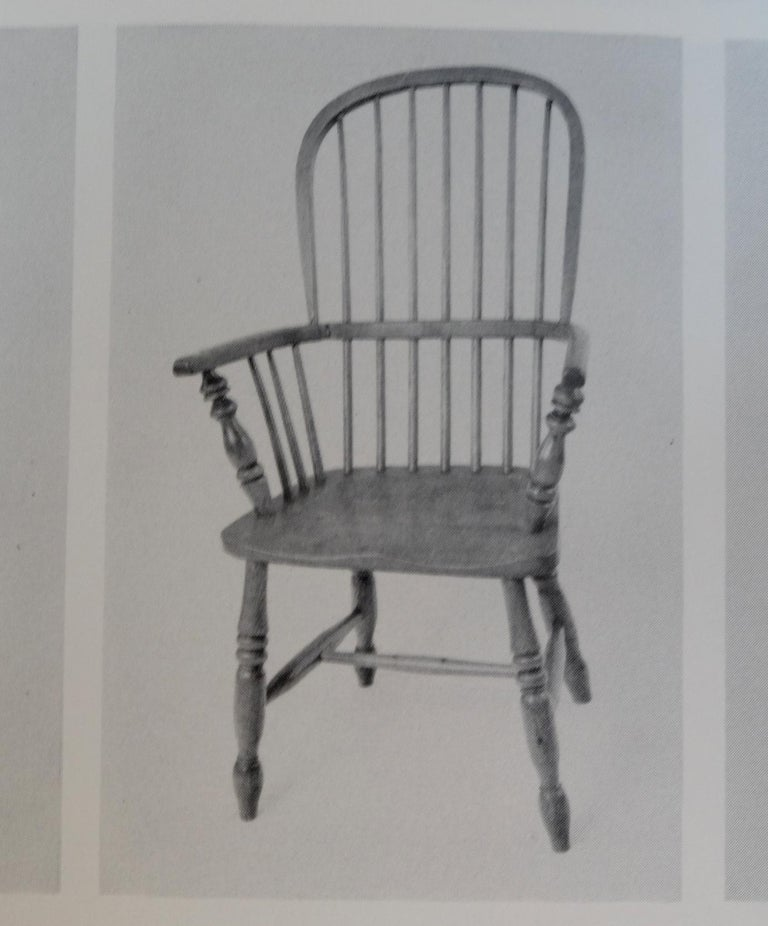 Mid-19th Century Lincolnshire Stick Back Windsor Chair in Ash and Elm, Original 3