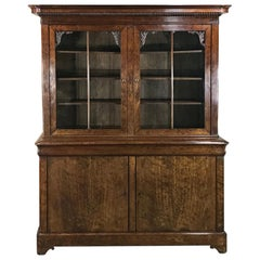 Mid-19th Century Louis Philippe Mahogany Bookcase
