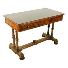Mid 19th Century Mahogany Library Table, 19th Century
