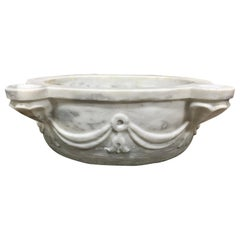 Mid-19th Century Marble Sink from Greece