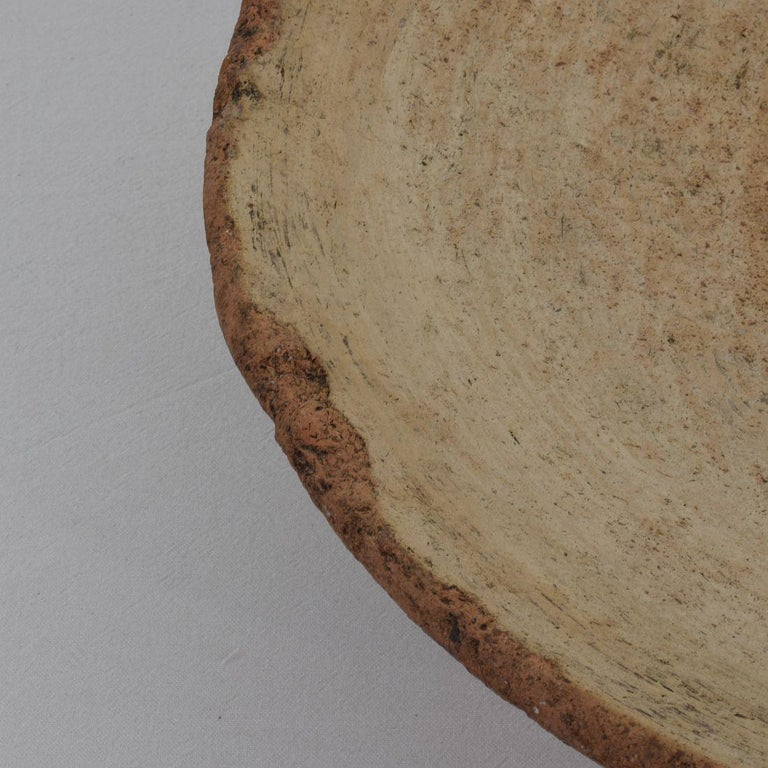 Mid-19th Century Moroccan Terracotta Couscous / Bread Bowl For Sale 2