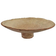 Mid-19th Century Moroccan Terracotta Couscous / Bread Bowl