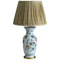 Mid-19th Century Opaline Vase Lamp