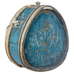 Mid 19th Century Painted Swedish Water Carrier
