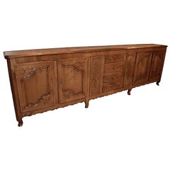 Mid-19th Century Picardy Fruitwood Buffet
