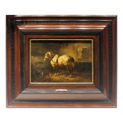 Mid-19th Century Signed Dutch Painting