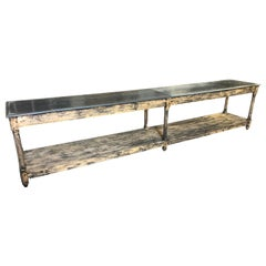 Mid-19th Century Spanish Draper's Table
