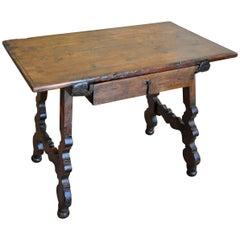 Mid-19th Century Spanish Side Table