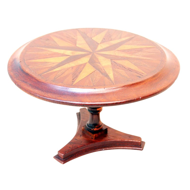 Mid-19th Century Specimen Wood Miniature Centre Table