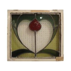 Mid-19th Century Stained Glass Window