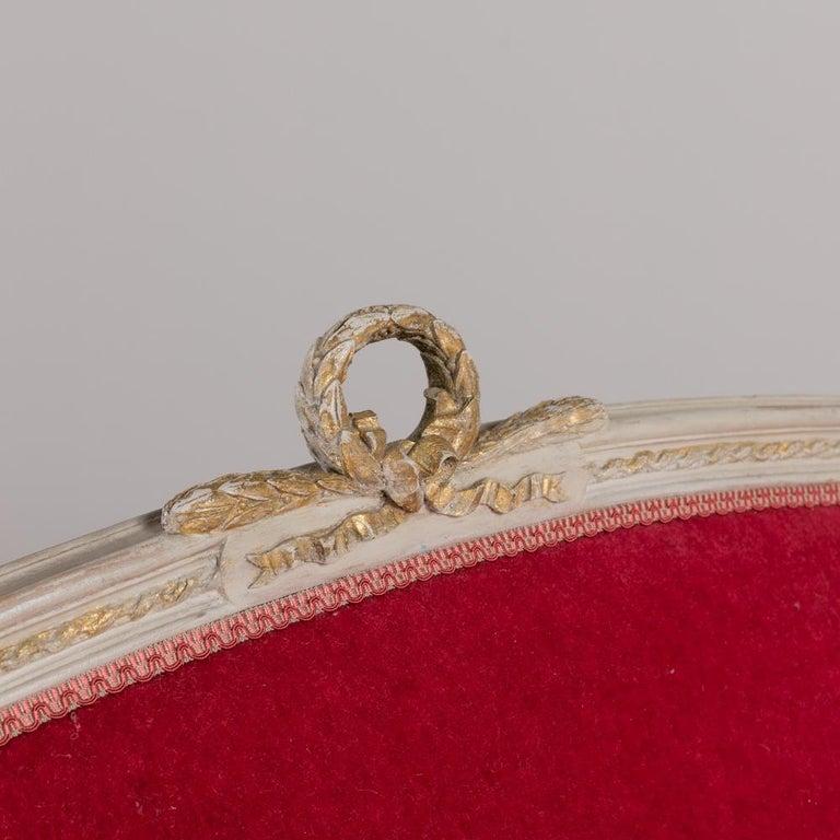 Mid-19th Century Swedish Rococo Style Sofa For Sale 3