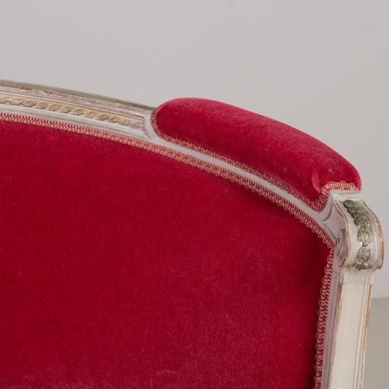 Mid-19th Century Swedish Rococo Style Sofa For Sale 4