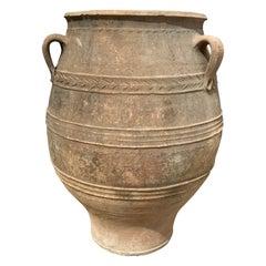Mid-19th Century Terracotta Vessel from Greece