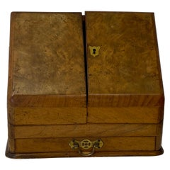 Mid 19th Century Walnut Letter Box