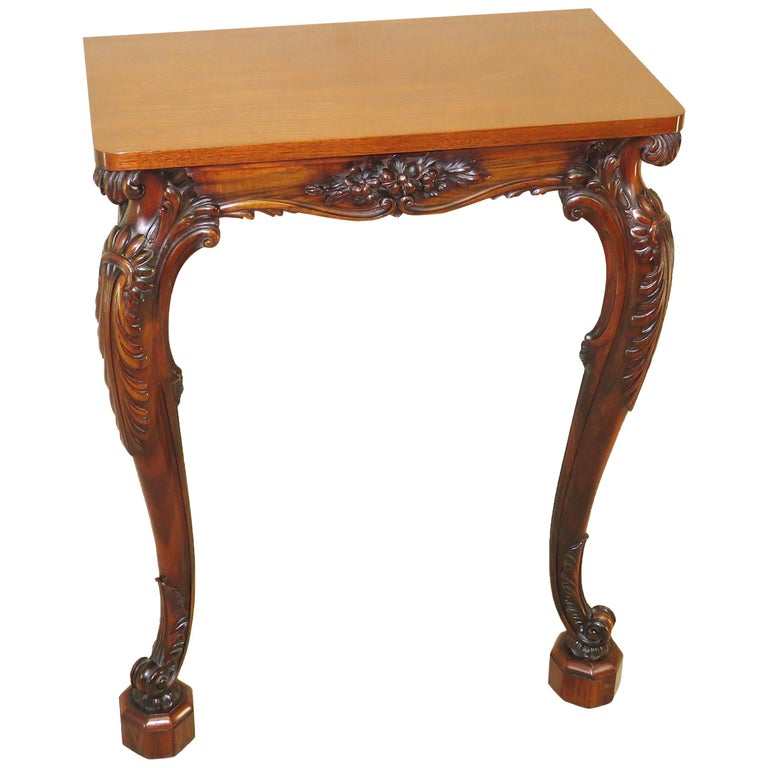 Mid-19th Century William IV English Small Console Table
