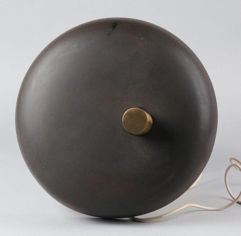 Mid-20th Century Modern German Desk Lamp Mushroom Lamp by Egon Hillebrand For Sale 1