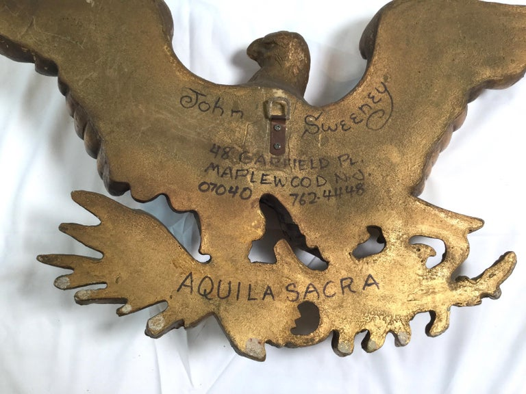 Mid-20th Century American Eagle Wall Plaque 2
