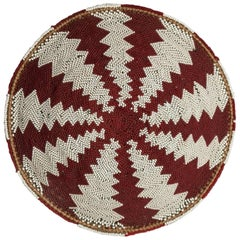 Mid-20th Century Beer Pot Cover 'Imbengi' Zulu People, South Africa