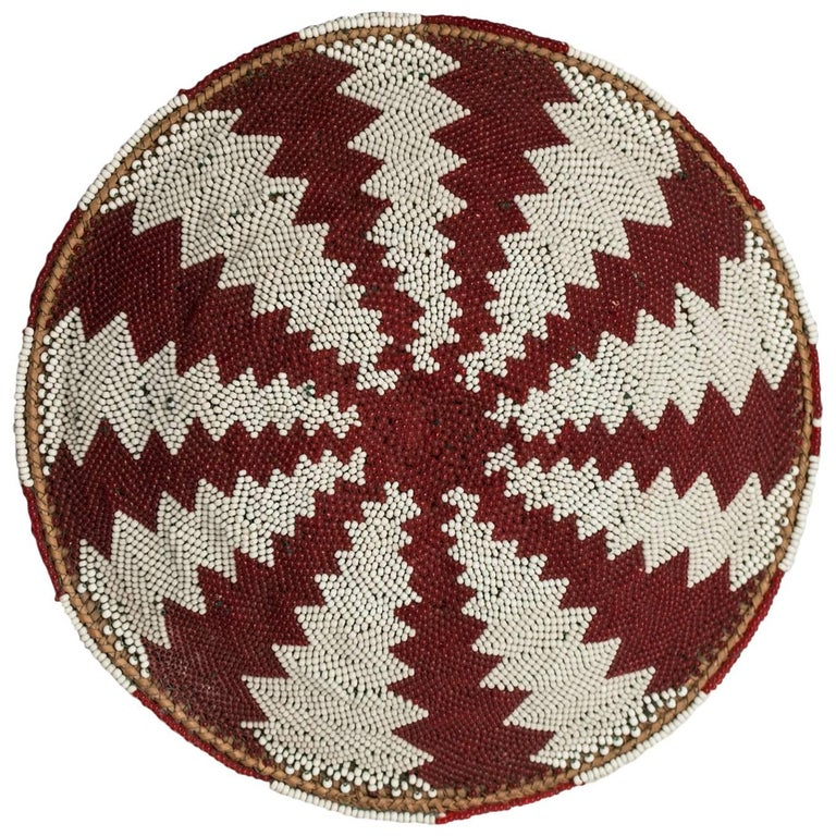 Mid-20th Century Beer Pot Cover 'Imbengi' Zulu People, South Africa For Sale