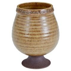 Mid 20th Century Ceramic Pot by Gunnar Nylund of Rorstrand