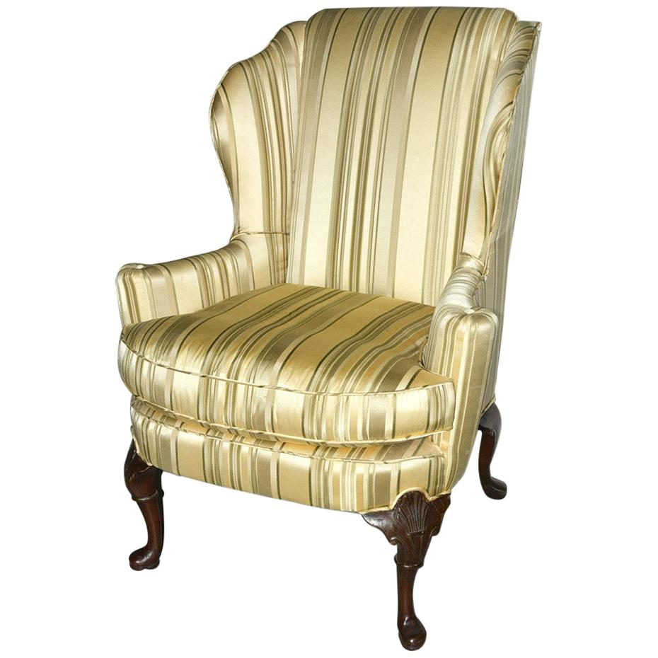 Mid-20th Century Classic American Wing Back Chair
