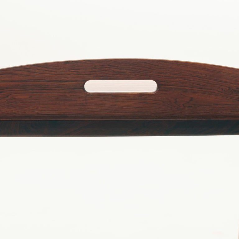 Mid-20th Century Danish Butlers Tray by Svend Langekilde in Rosewood 1