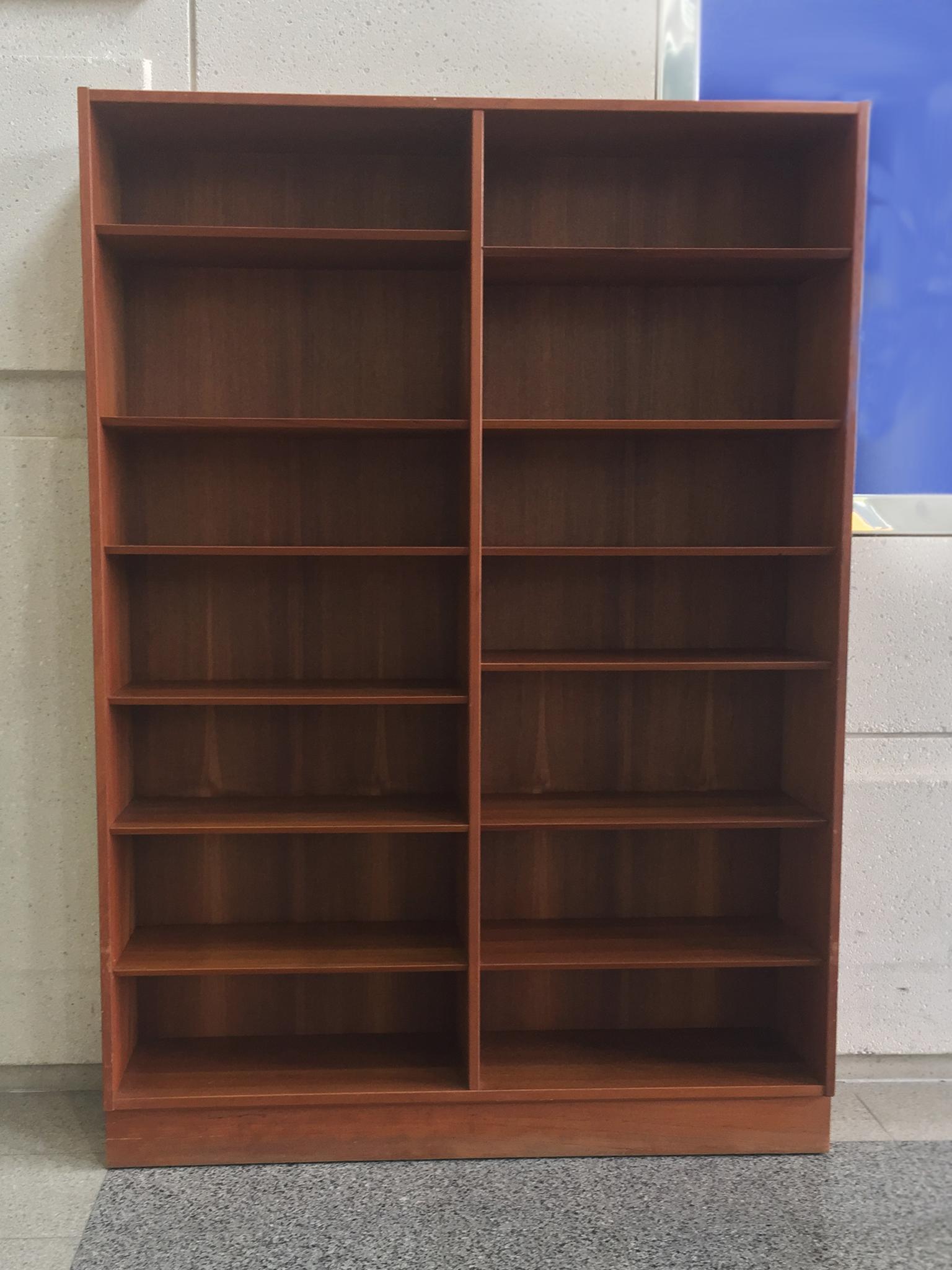Mid 20th Century Danish Modern Teak Bookcase By Poul Hundevad