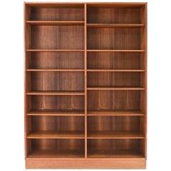 Mid-20th Century Danish Modern Teak Bookcase by Poul Hundevad