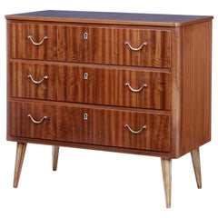 Mid-20th Century Danish Small Teak Chest of Drawers