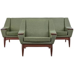 Mid-20th Century Danish Sofa and Armchair by Johannes Andersen