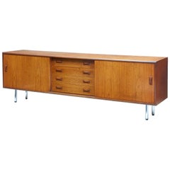 Mid-20th Century Danish Teak Sideboard by Clausen & Søn