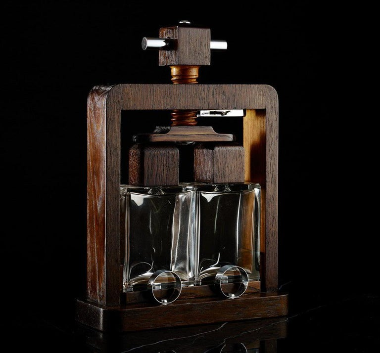 Mid-20th Century Drinks Tantalus French Circa 1960 In Excellent Condition For Sale In London, GB
