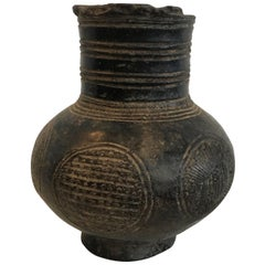 Mid-20th Century Engraved African Vessel from Mali