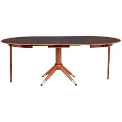 Mid-20th Century Extending Teak Dining Table by David Rosen