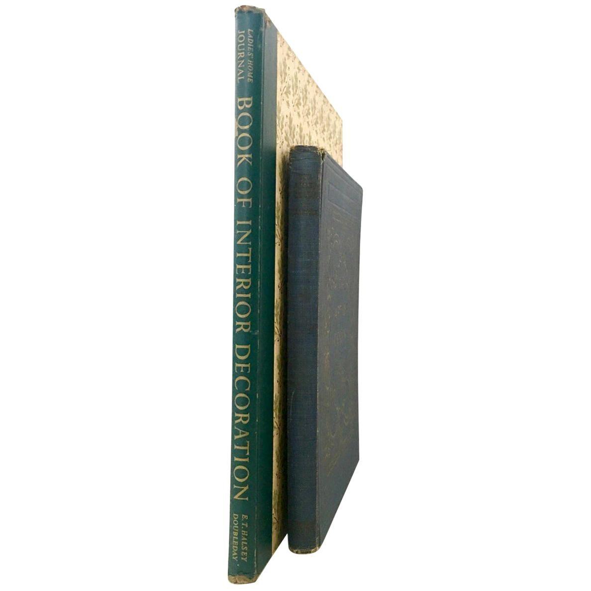 Mid-20th Century First Edition Interior Design Books Set of 2