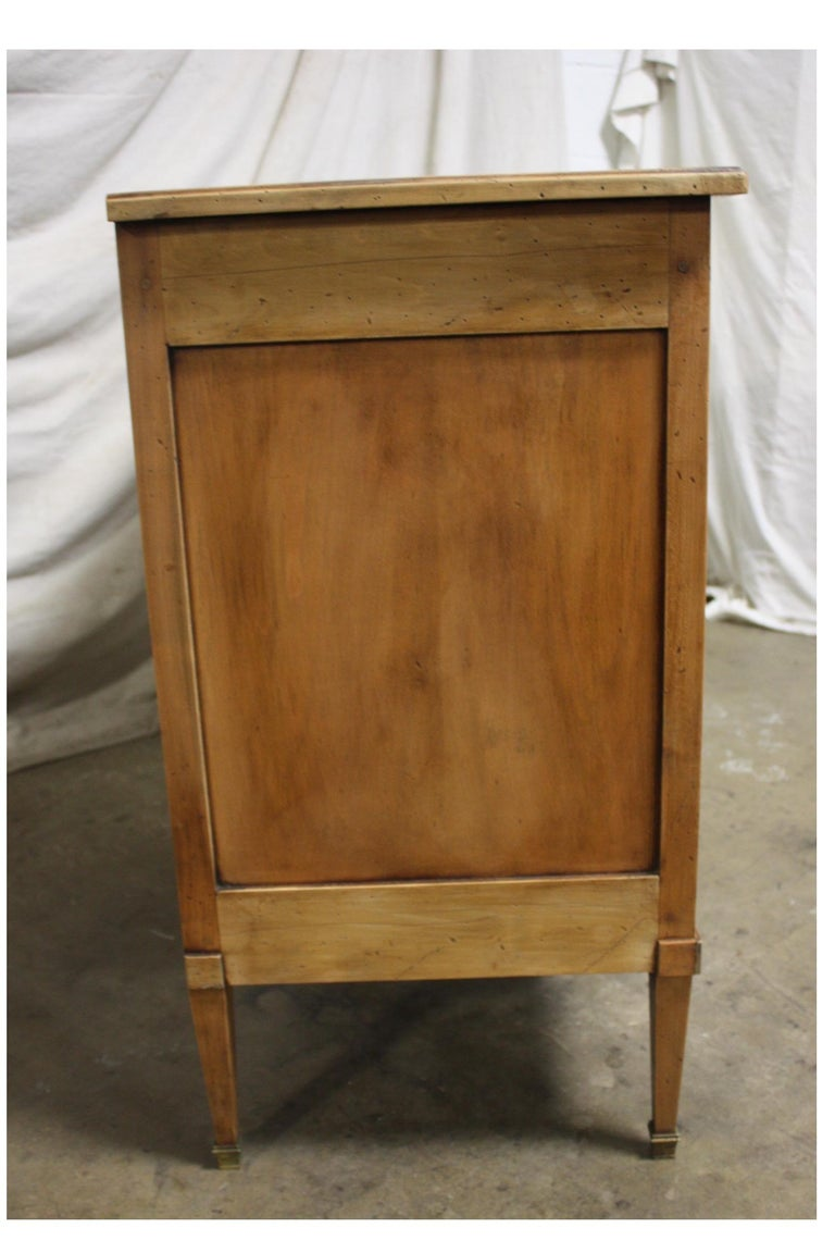 Walnut Mid-20th Century French Buffet For Sale