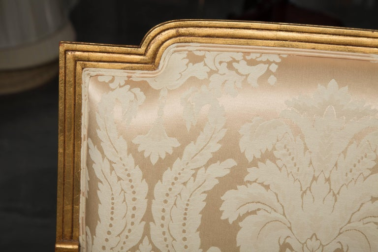 Mid-20th Century French Louis XVI Fauteuil Chairs For Sale 1
